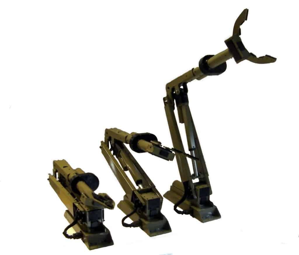 Custom 4 Axis Arm with position feedback