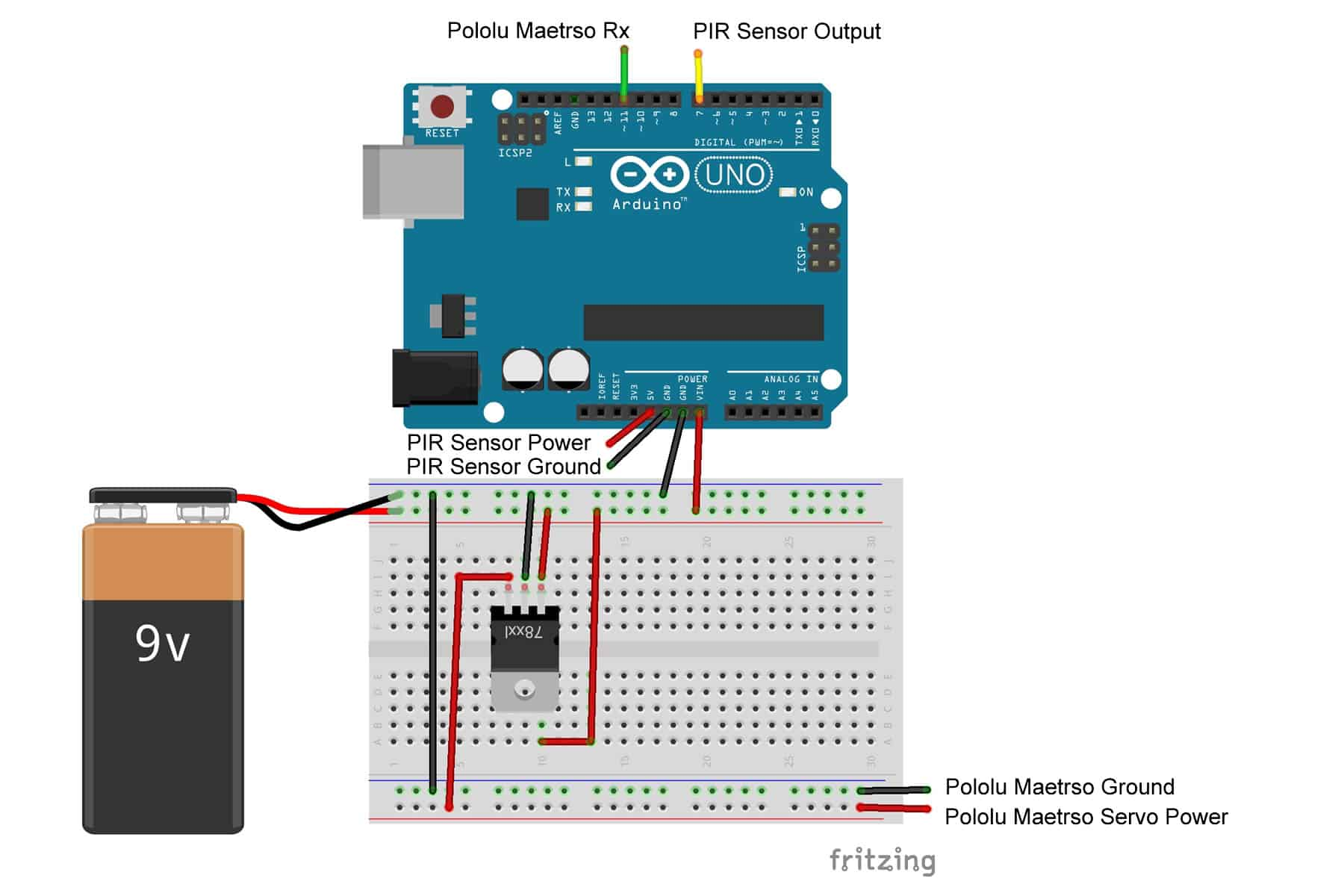 Motion Detection Servo Tech Thursday Detector Wiring Maetro