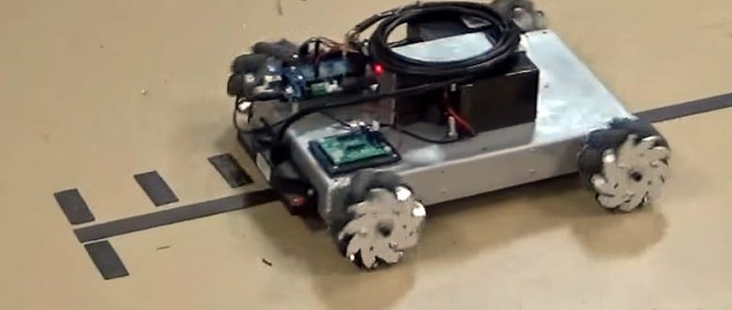 Video: IG32 DM Mecanum Robot with RoboteQ Magnetic Sensor