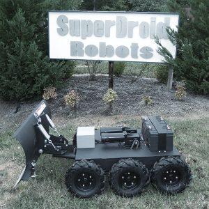 remote control snow plow