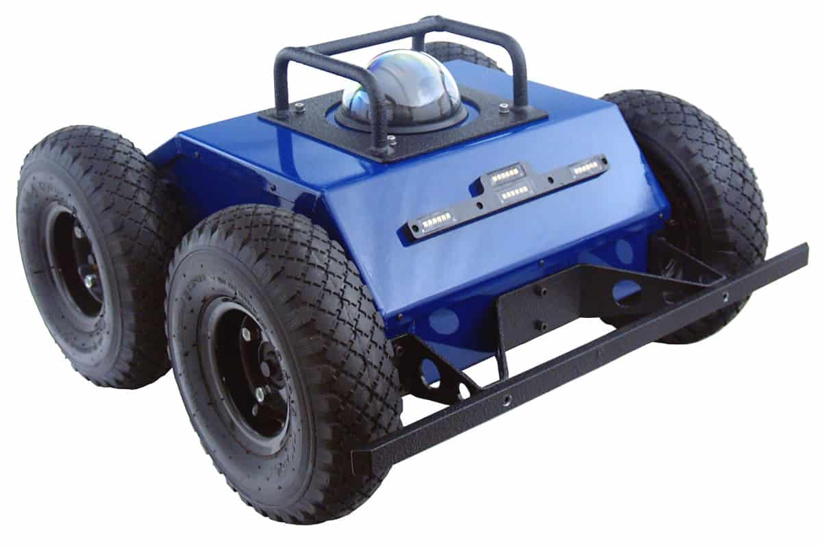 PTW-42 4WD Inspection and Surveillance Robot with PTZ Camera