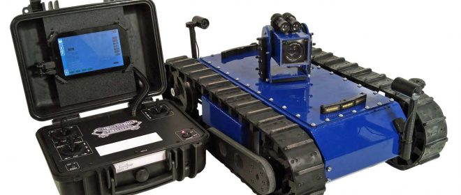 LT2-F-W Watertight Inspection Robot