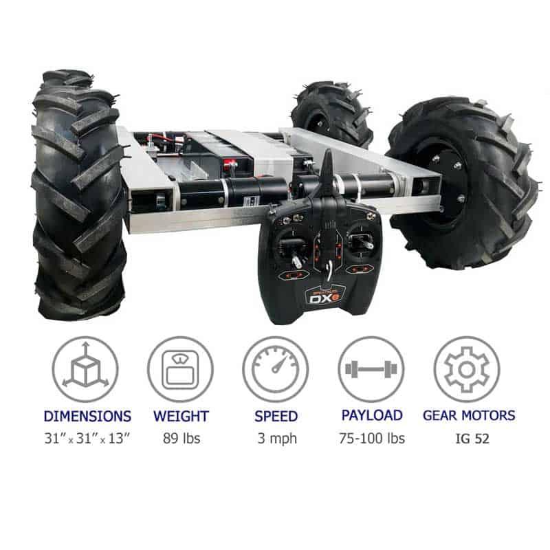 4WD IG52 Robot