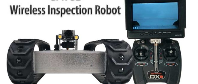 NEW GPK-32 Wireless Inspection Robot-Longer Range!