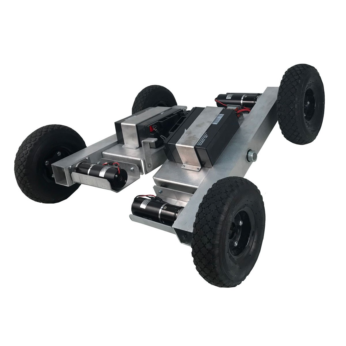 NEW 4WD IG-52 Robot with NEW Center Pivot Chassis at