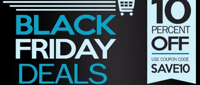 Black Friday Sale at SuperDroid Robots!