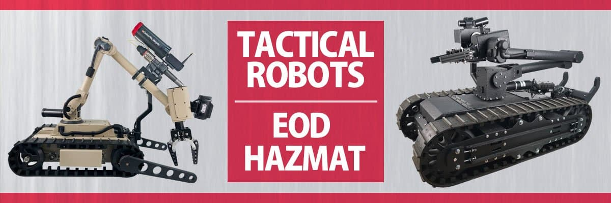 Tactical Military Robots