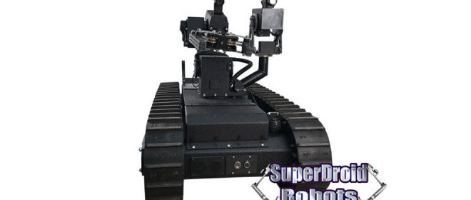 SuperDroid Robots High Tech Tactical Robot Joins SWAT Team