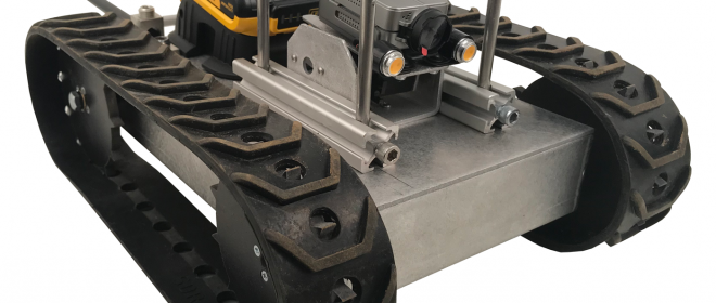 Roll Cage + Wheelie Bar Upgrades for GPK-32 Inspection Robot